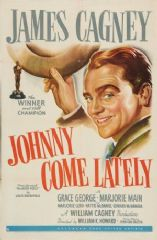 Johnny Come Lately 1943 DVD - James Cagney / Grace George